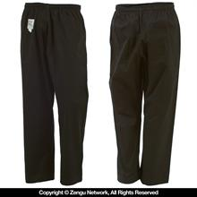 11 oz. Black Heavyweight Karate Pants